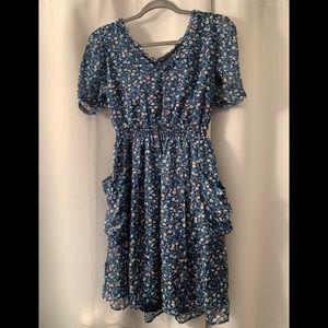 NWOT: ZARA floral dress